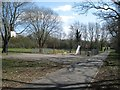 SP0266 : Play area off Carlton Close, Webheath, Redditch by Robin Stott