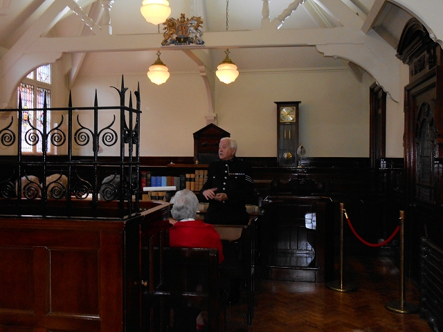 Victorian Magistrates' Courtroom, GMP Museum