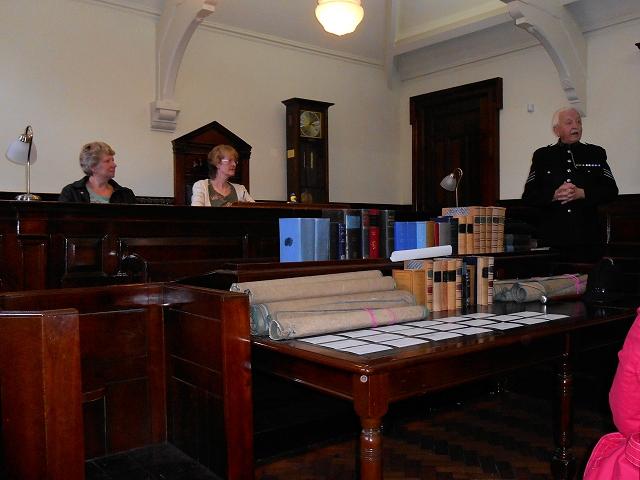 GMP Museum, Denton Magistrates' Courtroom