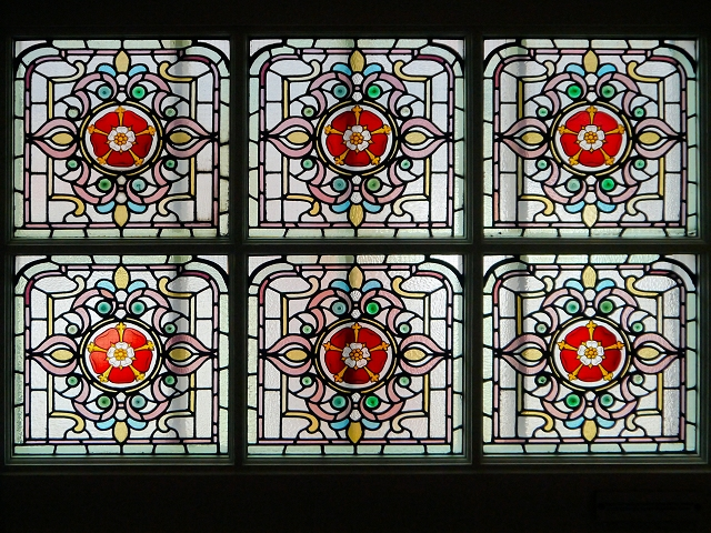Stained Glass, Denton Magistrates' Courtroom (GMP Museum)