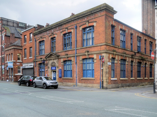 GMP Museum, Newton Street Police Station