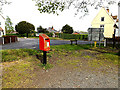 TM4394 : Toft Monks Post Office Postbox by Adrian Cable