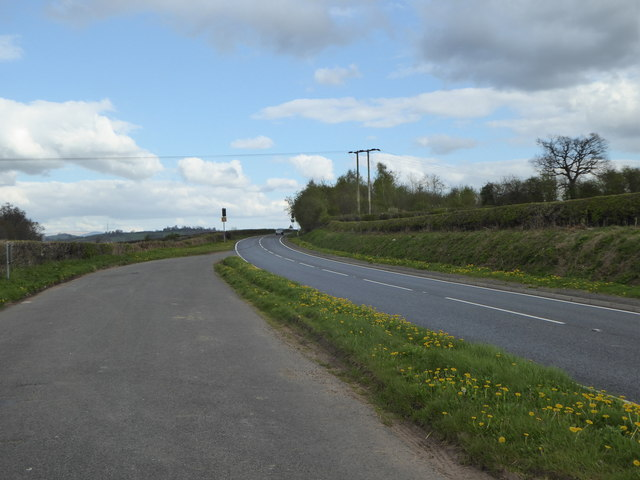 Lay-by on the A40 west of Brecon