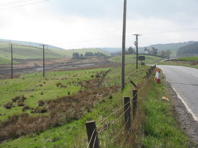 The A7 at Falahill