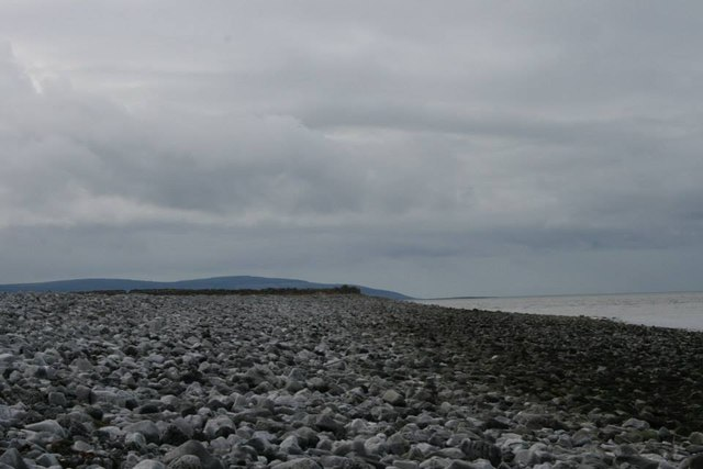 Beach in the westernmost segment of... © Jessica Hynes cc ...