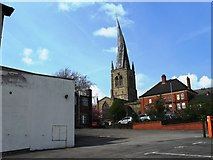 SK3871 : Crooked Spire, Chesterfield by Alex McGregor