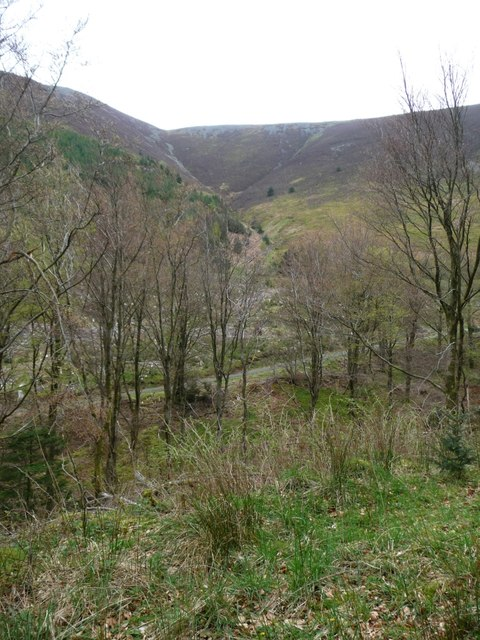 The valley of Gable Gill, Longside