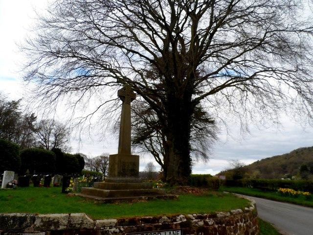 War memorial, Holy Trinity churchyard, Bickerton