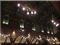 TQ2874 : St Luke's church, Battersea: lighting by Stephen Craven