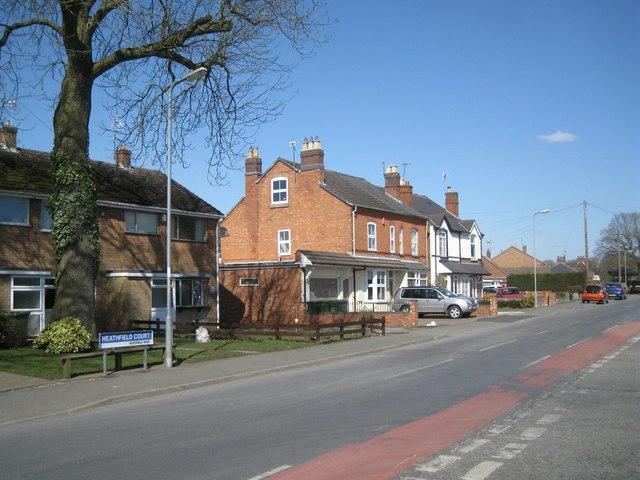 Northeast on Heathfield Road, Webheath, Redditch