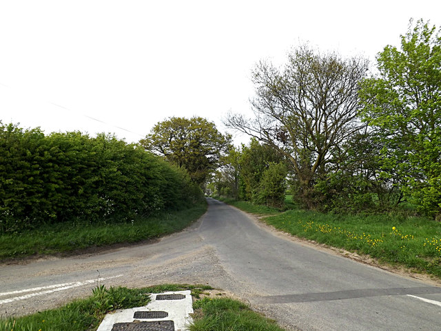 Church road, Toft Monks