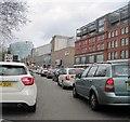 SJ8399 : New Bridge Street, Manchester by Tricia Neal