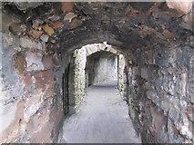 NT9953 : Inside Berwick Castle by N Chadwick