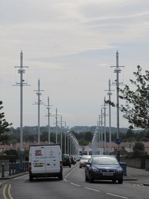 A1167 crossing, Royal Tweed Bridge