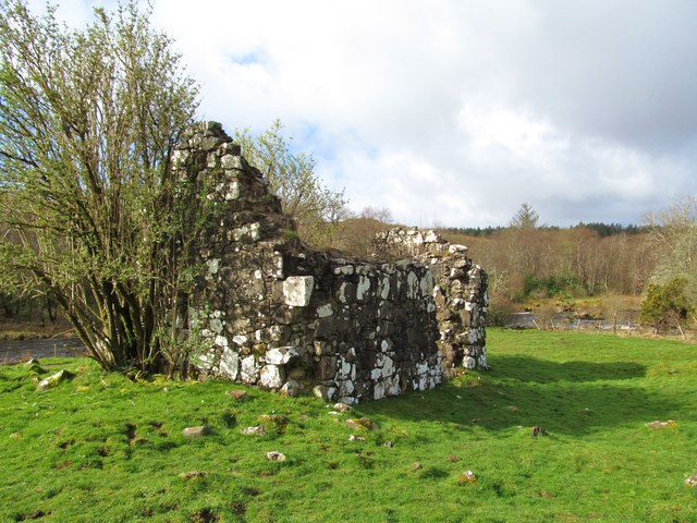 Ruined chapel on St Columba's Island