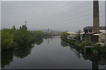 SE2320 : River Calder from cycle route #66 by Ian S