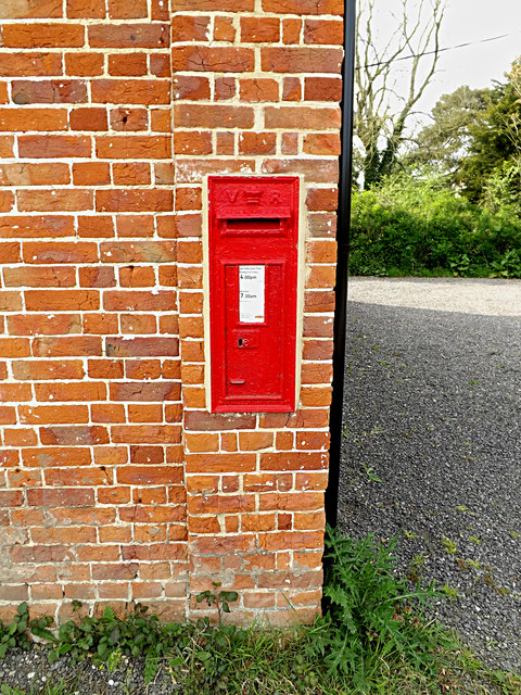 Rectory Road Victorian Postbox