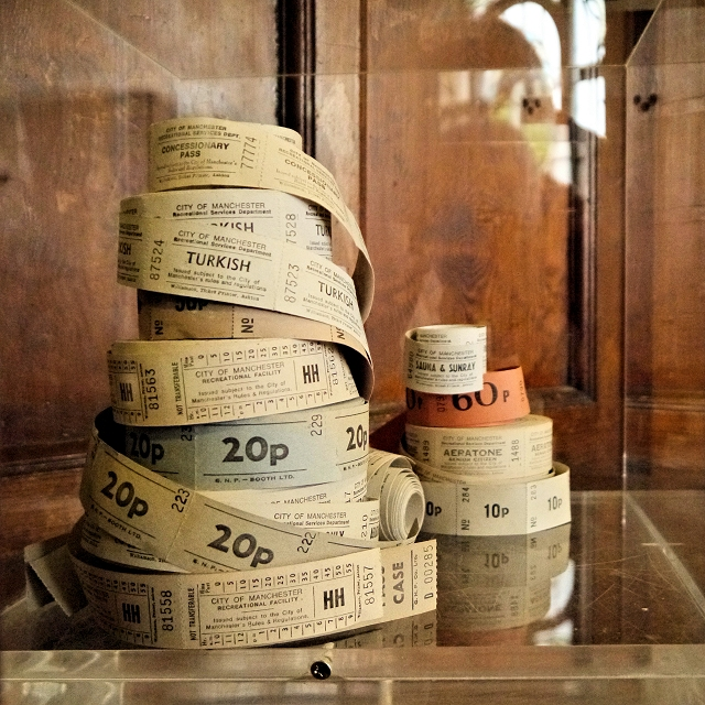 A Selection of Tickets, Manchester Victoria Baths