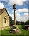 ST1742 : Churchyard Cross, Stringston by Derek Harper