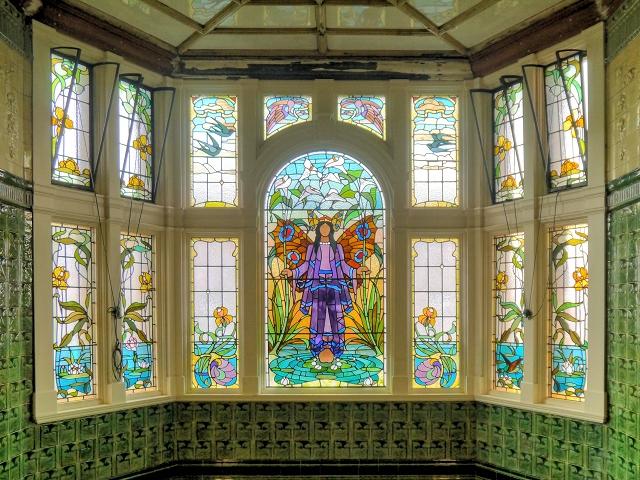 Angel of Purity Window, Victoria Baths