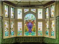 SJ8595 : Angel of Purity Window, Victoria Baths by David Dixon