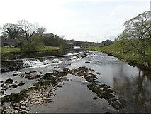 SE0063 : River Wharfe at Linton Falls by sylvia duckworth