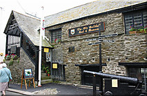 SX2553 : Old Guildhall Museum and Gaol Higher Market Street East Looe by Jo Turner
