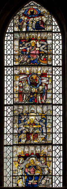 Stained glass window s.XXVII York Minster