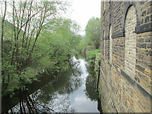 SE0641 : River Worth - Low Mill Lane by Betty Longbottom
