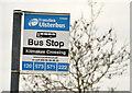 J2184 : Kilmakee Crossing bus stop, Templepatrick by Albert Bridge