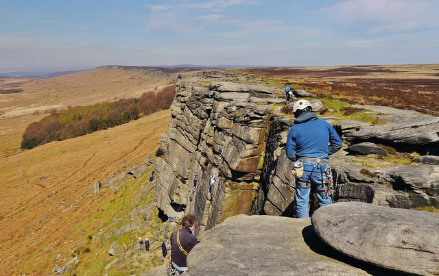 Conquering Stanage
