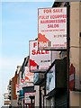 J5081 : 'For Sale' and 'To Let' signs, Bangor by Rossographer