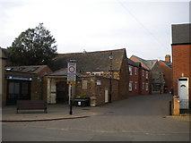SK8508 : South end of Gaol Street, Oakham by Richard Vince