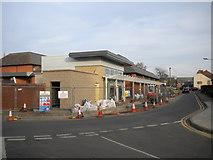 SK8508 : New bus interchange under construction, Oakham by Richard Vince