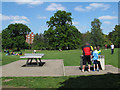 TQ3768 : Outdoor games in Kelsey Park by Stephen Craven