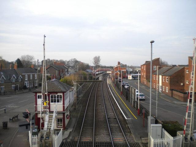 Oakham railway station
