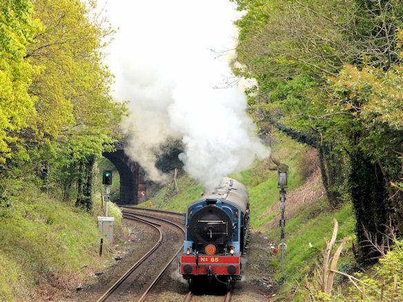 Steam locomotive no 85, Lisburn - May 2014(1)