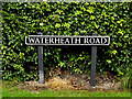TM4494 : Waterheath Road sign by Adrian Cable