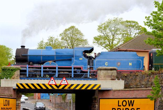 Steam locomotive no 85, Lisburn - May 2014(4)