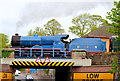 J2664 : Steam locomotive no 85, Lisburn - May 2014(4) by Albert Bridge