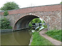 SP0272 : Worcester & Birmingham Canal - bridge No. 60 by Chris Allen