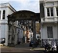 TQ2679 : Entrance to Elvaston Mews, South Kensington by PAUL FARMER