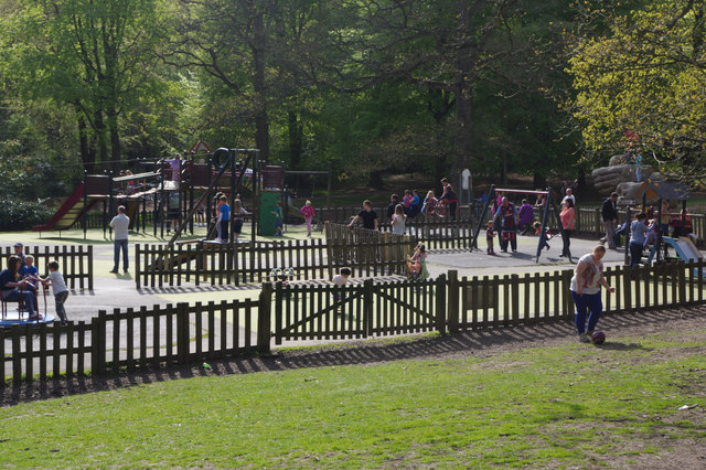Children's play area - Lickey Hills Country Park