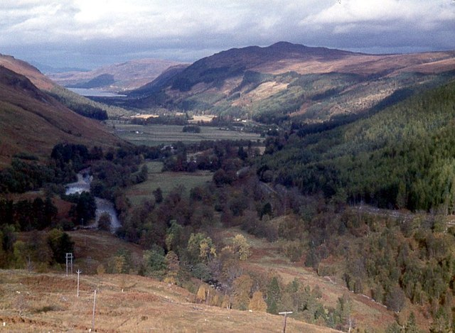 Strath More, the valley of the River Broom