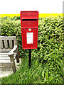 TM3384 : St. Peter Postbox by Adrian Cable