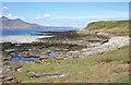 NM4788 : North Shore of Laig Bay by Anne Burgess