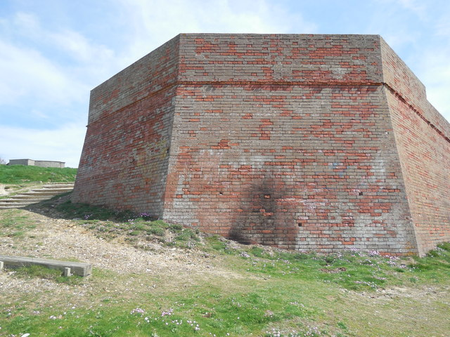 Brick Building, Seaford Head