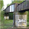 SK4837 : Railway footbridge by David Lally