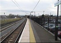 SP0278 : Northfield railway station, Birmingham by Nigel Thompson