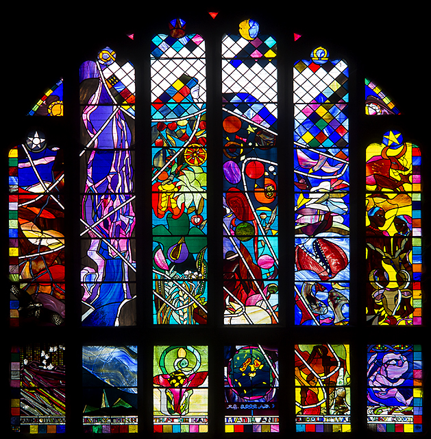 Creation window, Chester Cathedral